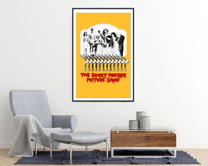 The Rocky Horror Picture Show Movie Poster - egoamo posters - room mockup