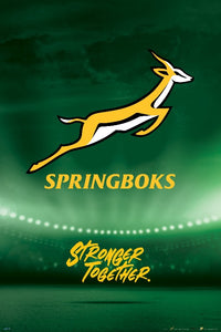 Springbok Rugby Poster - egoamo posters