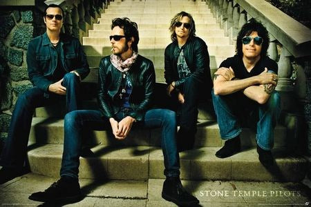 Stone Temple Pilots Band - Poster - egoamo.co.za