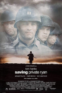 Saving Private Ryan movie poster  - egoamo posters