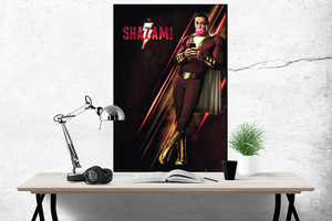 Shazam Movie Poster | Egoamo.co.za