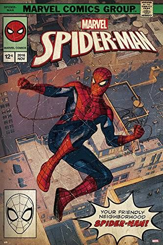 Spider-Man - Comic Book Poster - egoamo.co.za