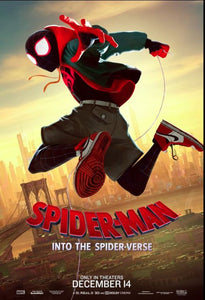 Spider-Man Into The Spider-Verse - Spider-Man only Poster - egoamo.co.za