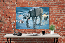 Star Wars - AT-AT Attack - Poster - egoamo.co.za