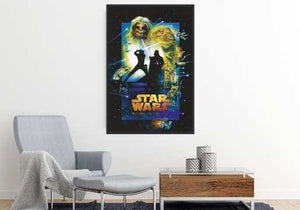Star Wars - Return Of The Jedi Retro Collection Poster Nock up- Egoamo.co.za Posters.jpg
