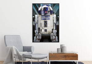 Star Wars - The Force Awakens R2-D2 Official Poster - Egoamo.co.za Posters Movie Poster R2-D2