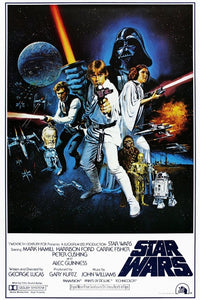 Star Wars a new hope movie poster - egoamo posters