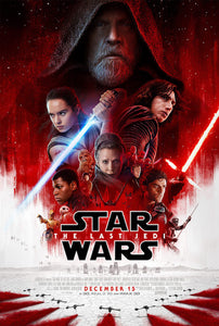 Star Wars - The Last Jedi Poster - egoamo.co.za