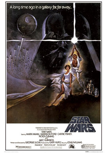 Star Wars - New Hope Movie Poster - egoamo.co.za