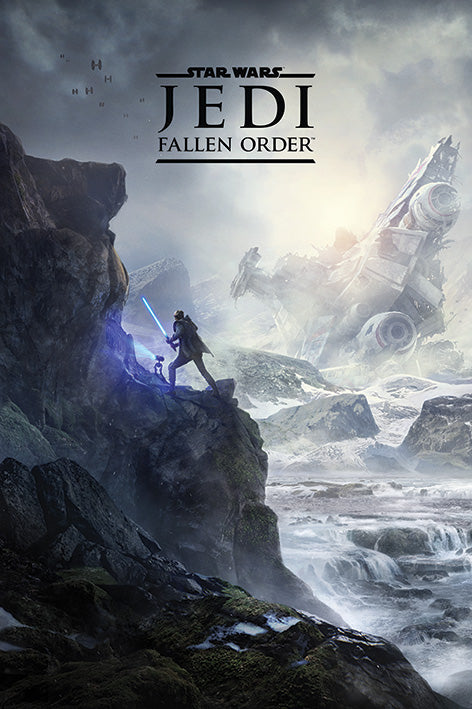 Star Wars: Jedi Fallen Order Gaming Poster - egoamo.co.za