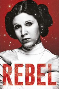 Star Wars - Princess Leia Rebel Poster - egoamo.co.za