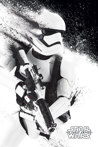 Star Wars - The Force Awakens Storm Trooper Poster - egoamo.co.za
