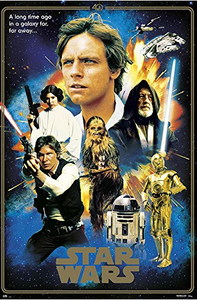 Star Wars - 40th Anniversary Heroes Poster - egoamo.co.za