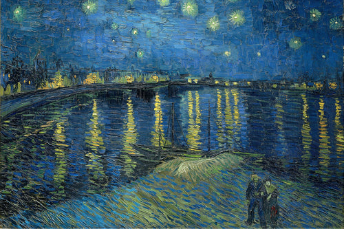 Vincent Van Gogh - Starry Night Over the Rhône (1888) Poster - egoamo.co.za