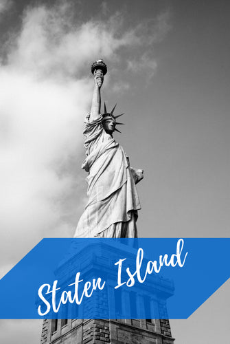 Staten Island New York - Poster - egoamo.co.za