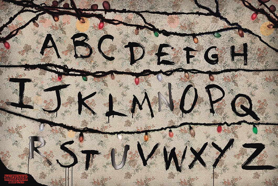 Stranger Things - (R,U,N) Poster - egoamo.co.za