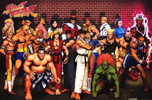 Street Fighter Poster