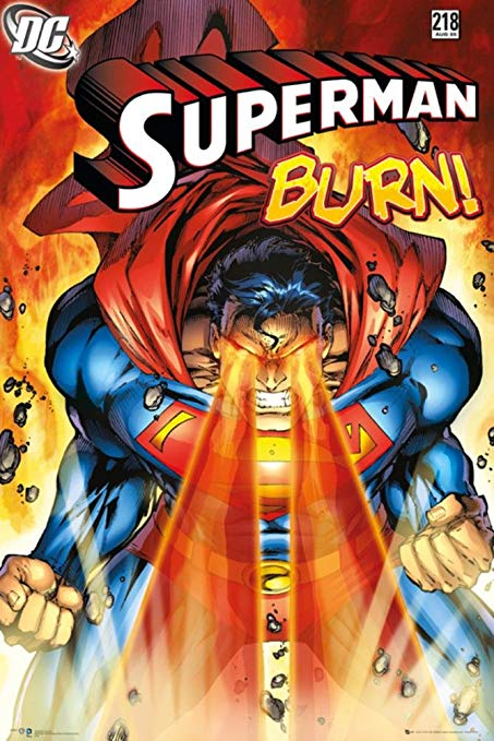 Superman - Burn - Comic Poster - egoamo.co.za