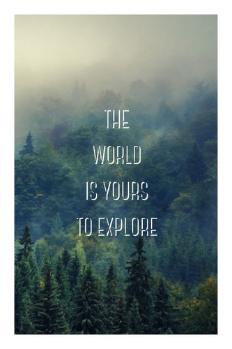 The World is Yours to Explore 2 poster - egoamo.co.za