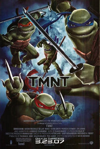 TMNT (2007)  - Laminated, Mounted and Framed Poster - egoamo.co.za