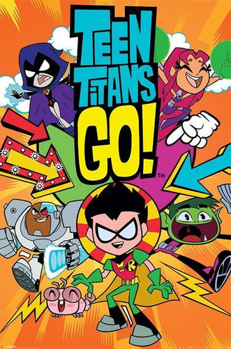 Teen Titans Go! Kids Movie Poster - egoamo.co.za