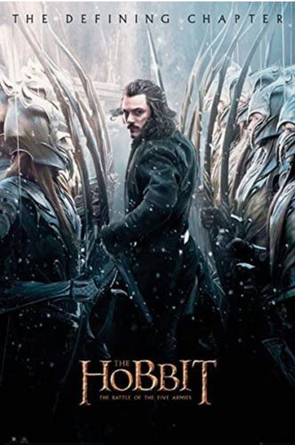 The Hobbit - Battle of Five Armies (Bard) Poster - egoamo.co.za
