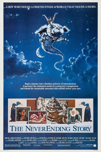 Neverending Story - Retro Movie Poster - egoamo.co.za