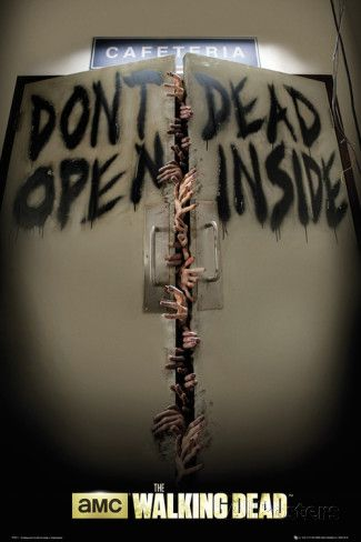 Walking Dead - Don't Open Poster - egoamo.co.za