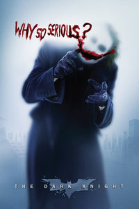"The Dark Knight - ""Why So Serious"" Joker Poster - egoamo.co.za"