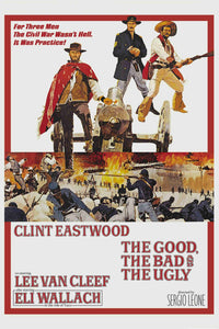 The Good, the bad & the Ugly - Collectible Movie Poster - egoamo.co.za