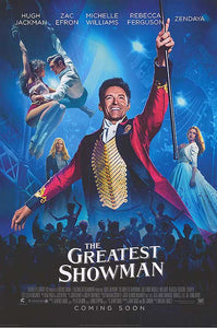 The Greatest Showman - Original Double Sided Cinema One Sheet Poster - egoamo.co.za