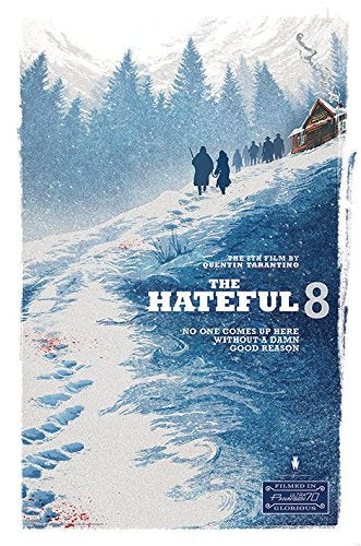 The Hateful 8 - Collectable Movie Poster - egoamo.co.za