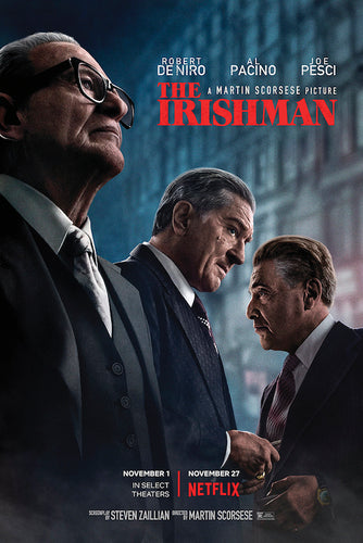 The Irishman Movie Poster - egoamo.co.za