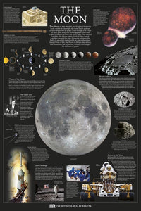 The Moon Educational poster - egoamo.co.za