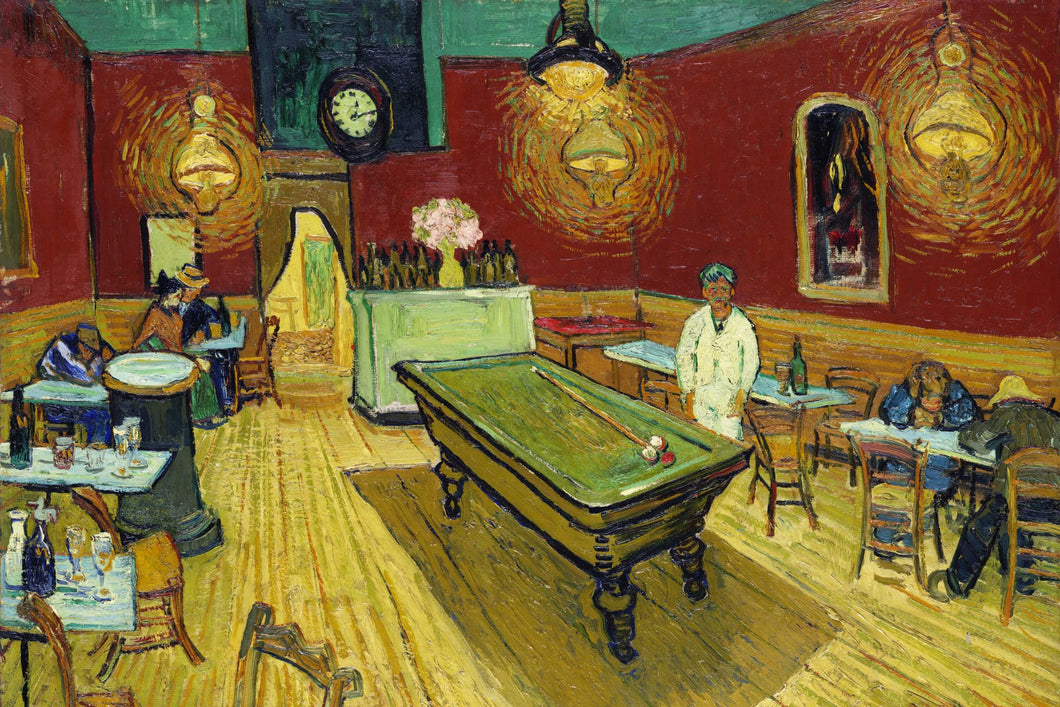 Vincent Van Gogh - The Night Cafe (1888) Poster - egoamo.co.za