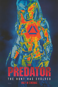 The Predator-  Original Double Sided Cinema One Sheet Collectible Poster - egoamo.co.za