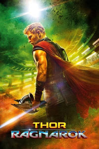 Thor: Ragnarok - Original Blu Ray & DVD Release One Sheet Collectible Poster - egoamo.co.za