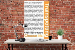 Trainspotting - Choose Life Poster - egoamo.co.za