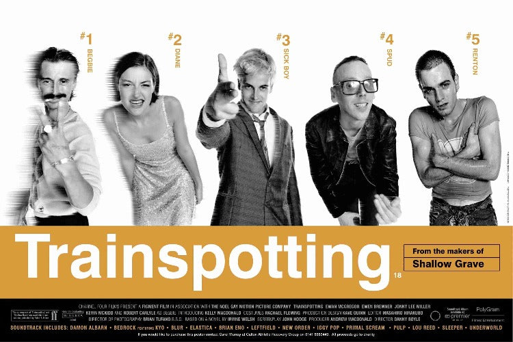 Trainspotting Movie Poster - egoamo.co.za