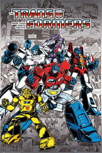 Transformers - Retro Poster - egoamo.co.za