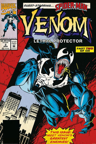 Venom Lethal Protector Part 2 Comic Poster egoamo.co.za