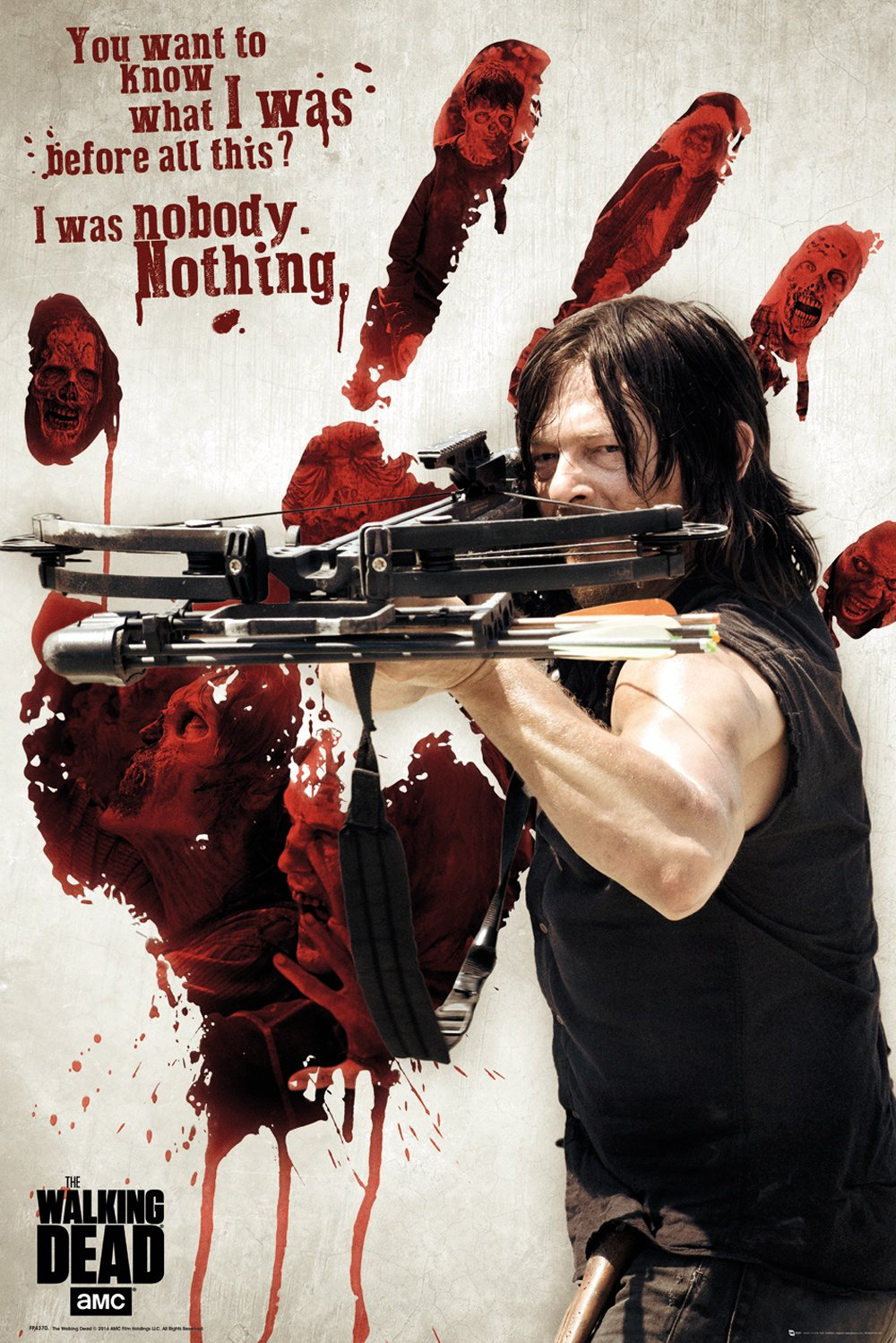 Walking Dead - Bloody Hand Poster - egoamo.co.za