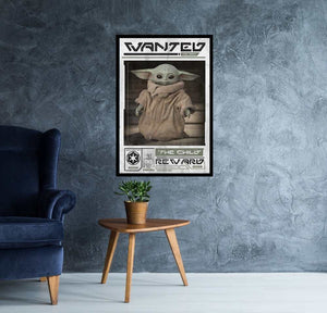 Star Wars: The Mandalorian - Wanted the Child Poster - egoamo.co.za