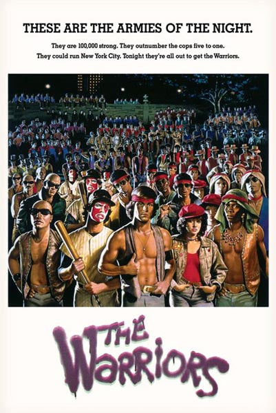 The Warriors Poster - egoamo.co.za