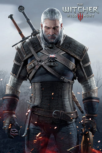 The Witcher gaming poster - egoamo.co.za