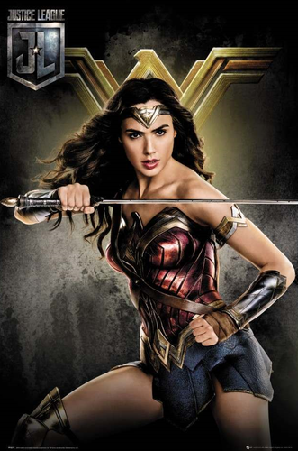 Justice League - Wonder Woman Poster - egoamo.co.za