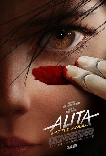 Alita Battle Angel - Laminated, Mounted and Framed Original Movie Poster - egoamo.co.za