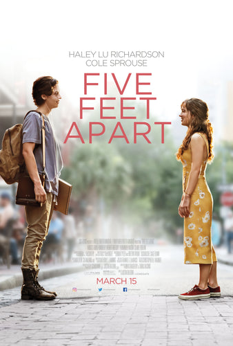 Five Feet Apart Movie Poster - egoamo.co.za