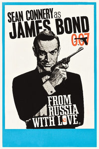 James Bond FRom Russia with Love Poster - egoamo.co.za