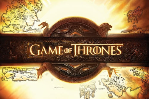 Game of Thrones - Logo - Poster - egoamo.co.za